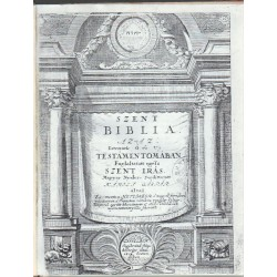 Szent Biblia 1704