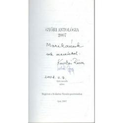 Győri antológia 2007 (dedikált)
