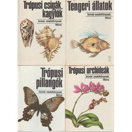 Búvár zsebkönyvek (54 db)