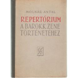 Repertórium a barokk zene történetéhez