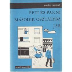 Peti és Panni második osztályba jár