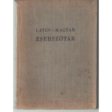 Latin-magyar zsebszótár