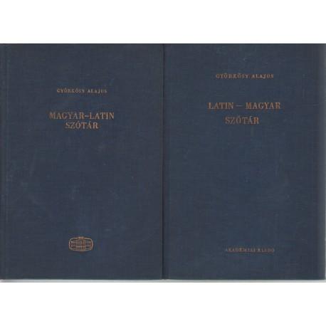 Magyar-latin szótár I-II.