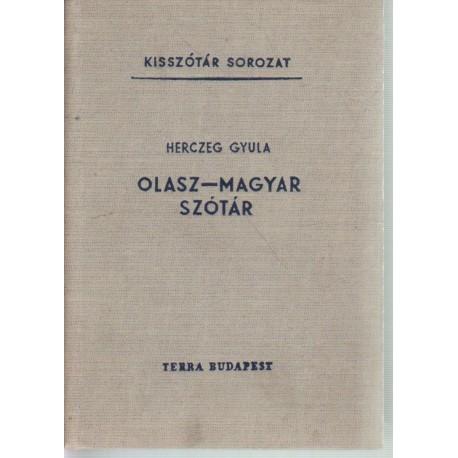 Olasz-magyar szótár