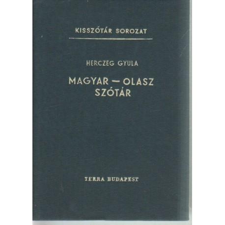 Magyar-olasz szótár