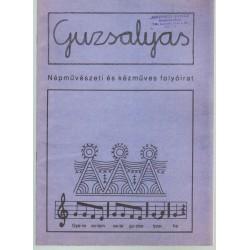 Guzsalyas népművészeti és kézműves folyóirat ( 1999. július-aug.)