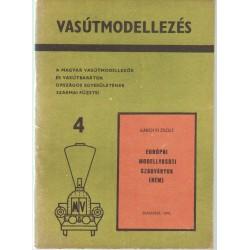 Európai modellvasúti szabványok