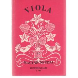 Viola -93 magyar népdal
