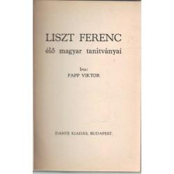 Liszt Ferenc élő magyar tanítványai