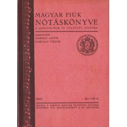 Magyar fiúk nótáskönyve 1933