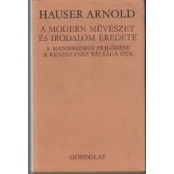 A modern művészet és irodalom eredete