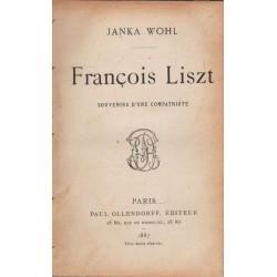 Francois Liszt (francia nyelvű)