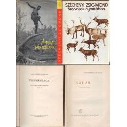 Vadászkönyvek (4 db.)