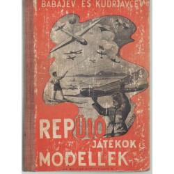 Repülőjátékok és modellek