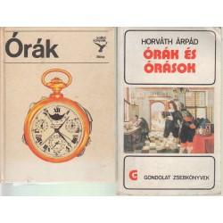 Órás könyvek (2 db.)