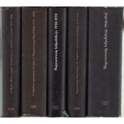Diplomáciai iratok Magyarország külpolitikájához 1936-1945. 1-5 kötet (teljes)