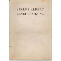 Siklós Albert Zenei lexikona