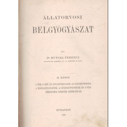 Állatorvosi belgyógyászat II.