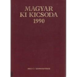 Magyar ki kicsoda 1990