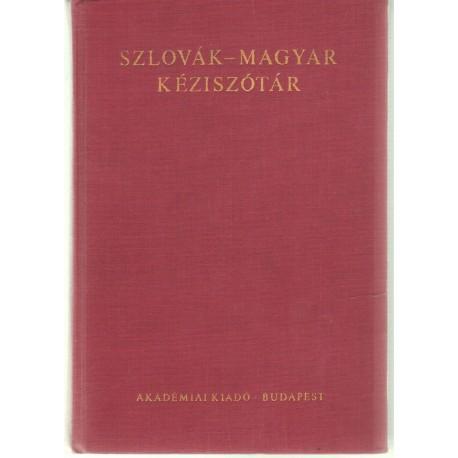 Szlovák-Magyar Kéziszótár