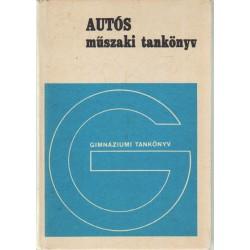 Autós műszaki tankönyv