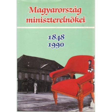 Magyarország miniszterelnökei 1848-1990