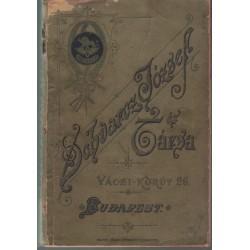 Árjegyzék 1891. Műszaki és gazd.munkagépek Schvacz József és társa
