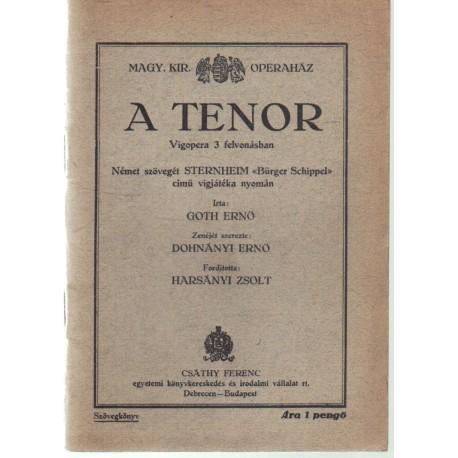 A tenor
