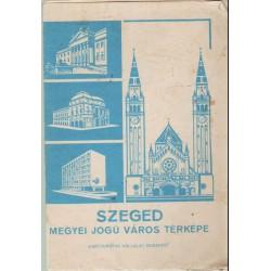 Szeged megyei jogú város térképe