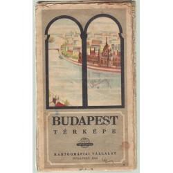 Budapest térképe (1958)
