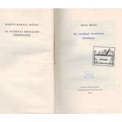 Az európai irodalom története