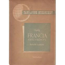 Francia nyelvkönyv haladók számára