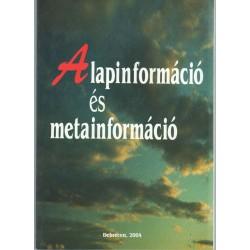 Alapinformáció és metainformáció
