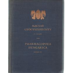 Magyar gyógyszerkönyv - Pharmacopoea Hungarica
