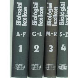 Biológiai lexikon I-IV. (1975)
