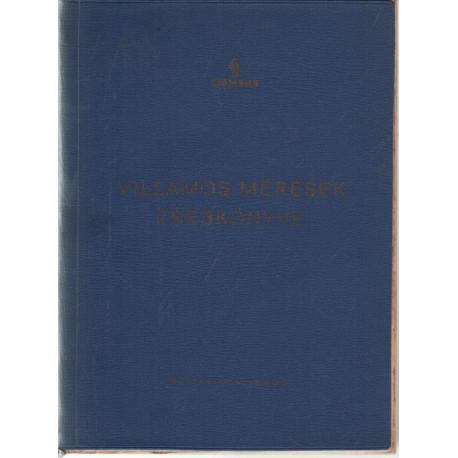 Villamos mérések zsebkönyve 1967