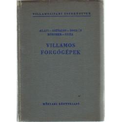 Villamos forgógépek 1960