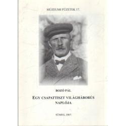 Egy csapattiszt világháborús naplója