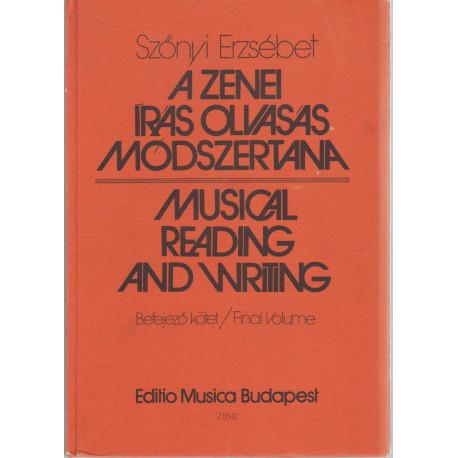 A zenei írás olvasás módszertana