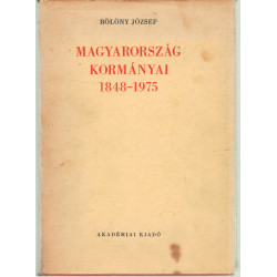 Magyarország kormányai 1848-1975