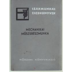 Mechanikai műszerészmunka