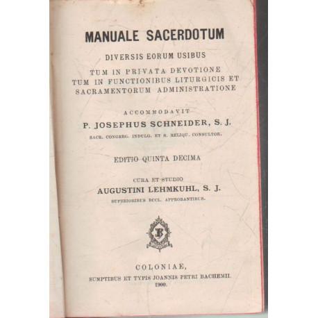 Manuale Sacerdotum (Szentségek)