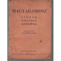 Magyar-orosz szótár, nyelvtan, kifejezések