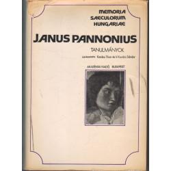 Janus Pannonius tanulmányok