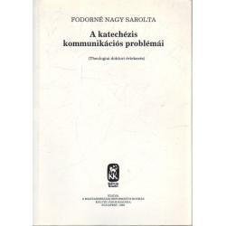 A katechézis kommunikációs problémái