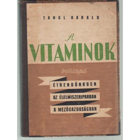 A vitaminok szerepe