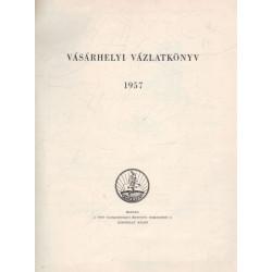 Vásárhelyi vázlatkönyv 1957